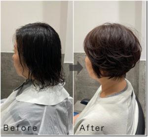 ボブ・ショート専門美容師の施術例